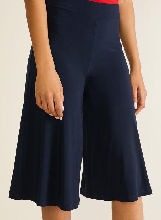 Jupe-culotte en jersey, Bleu