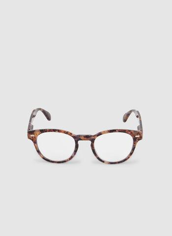 Round Frame Glasses, Multi,  glasses, marble, plastic, fall 2019, winter 2019