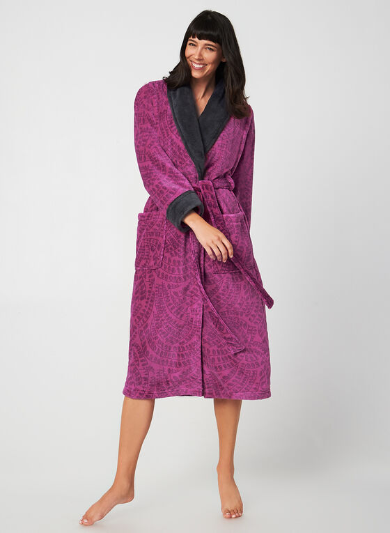 Claudel Lingerie - Belted Robe, Red