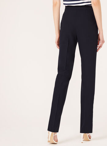 Pantalon coupe signature extensible, Bleu, hi-res