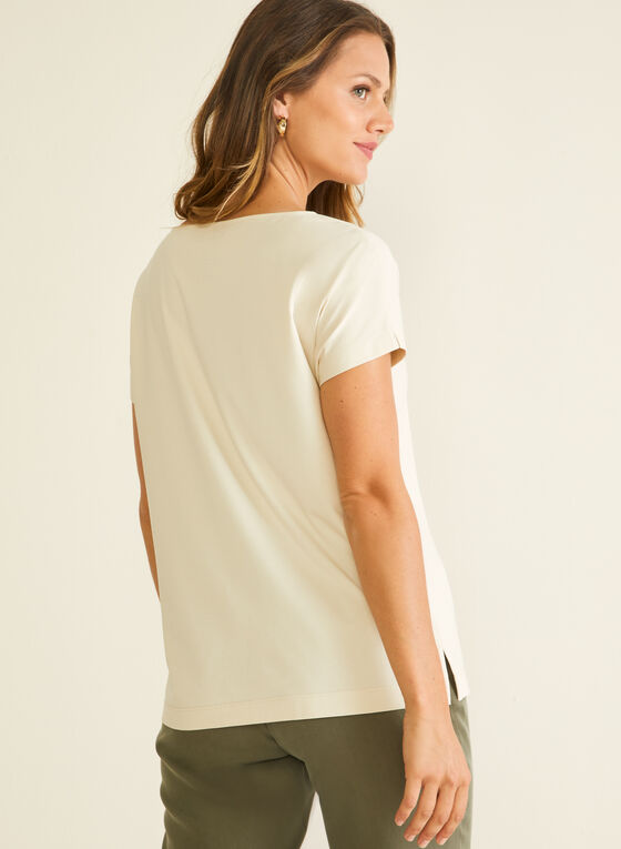 Cotton & Modal T-Shirt, Grey