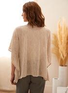Light Kimono Knit Cover Up, Off White