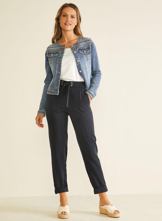 Modern Fit Tencel Pants, Blue
