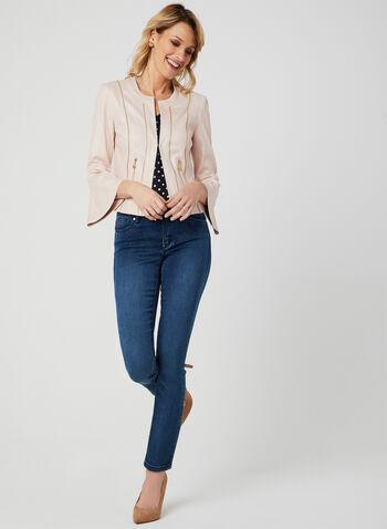 Vex - Bell Sleeve Jacket, Pink, hi-res