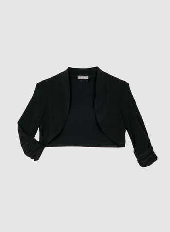 Shired Sleeve Bolero, Black, hi-res,