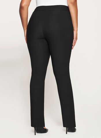 City Fit Pull-On Straight Leg Pants, , hi-res