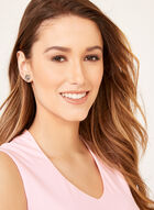 Sleeveless Jersey Top , Pink, hi-res