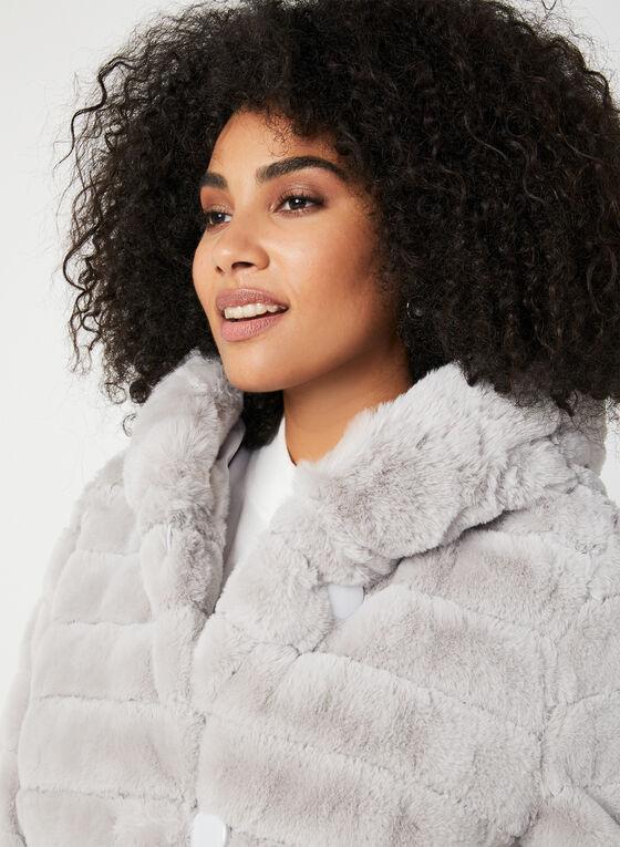 Nuage - Manteau réversible à capuchon, Argent, hi-res