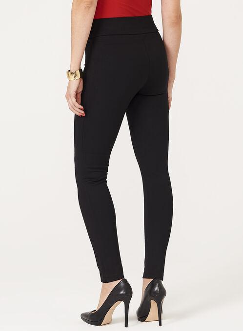 Legging pull-on en tricot , Noir, hi-res