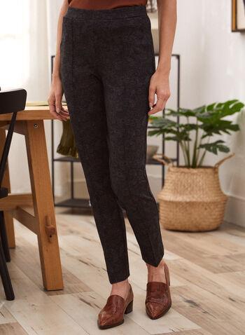 Pantalon motif cachemire à enfiler, Bleu,  automne hiver 2020, pantalon, pull-on, taille élastique, à enfiler, motif, cachemire