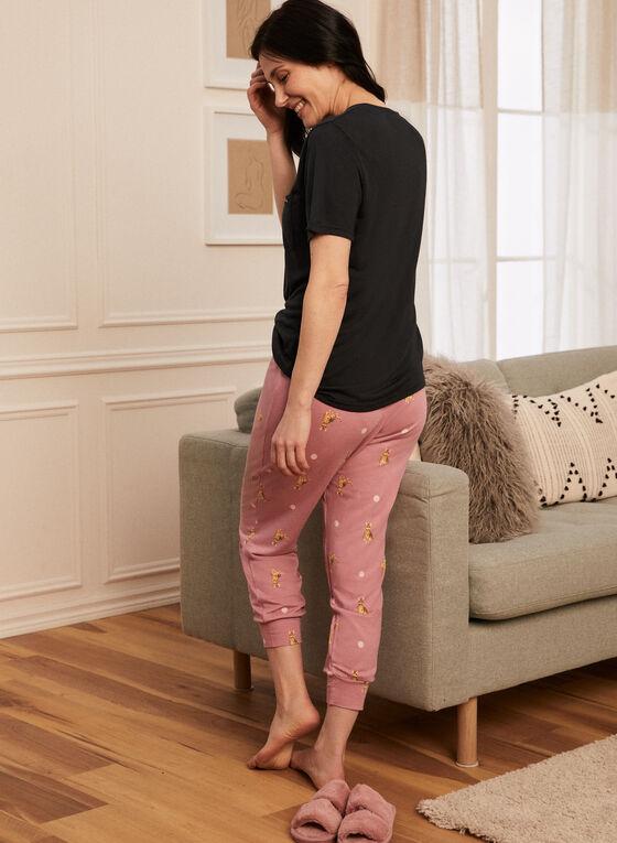 Tee & Pants Pyjama Set, Grey