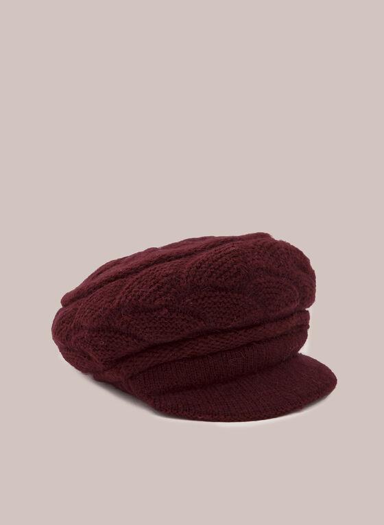 Casquette en tricot , Rouge