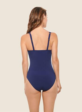Christina - Maillot de bain à imprimé paisley, Bleu,  maillot de bain, une pièce, automne hiver 2020, christina, motif, paisley, bretelles ajustables, vacances