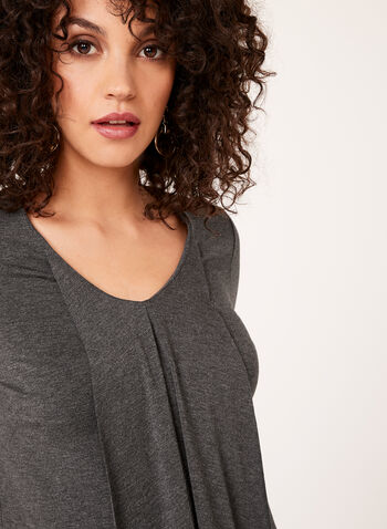 Asymmetric Front Jersey Top , , hi-res