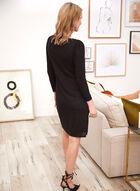 Long Sleeve Sheath Dress, Black