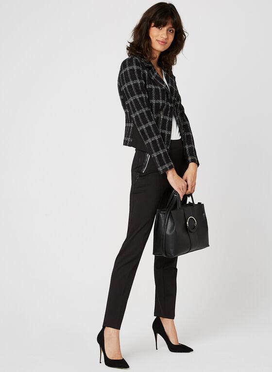 Pantalon coupe moderne à jambe étroite  , Noir, hi-res