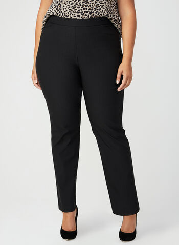 Simon Chang - Signature Fit Straight Leg Pants, Black, hi-res