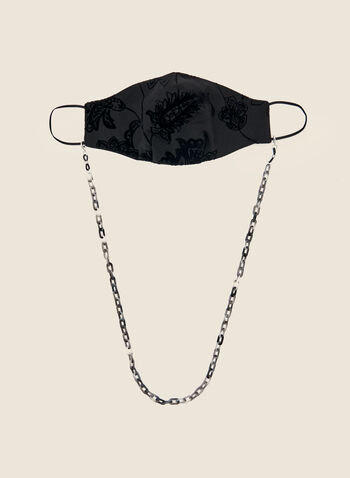 Chain For Mask And Glasses, Grey,  autumn winter 2020, chain, mask, glasses, accessories