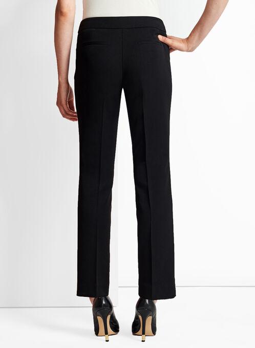 Modern Fit Slim Leg Pants, Black, hi-res
