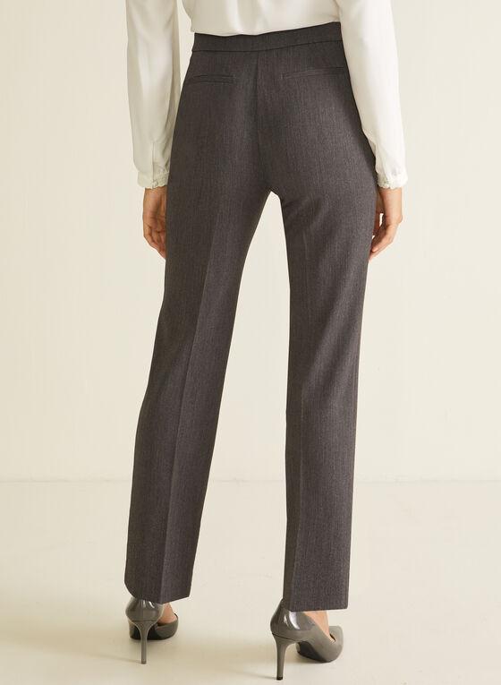 Signature Fit Straight Leg Pants, Grey