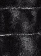 Echarpe tube en simili fourrure, Noir, hi-res