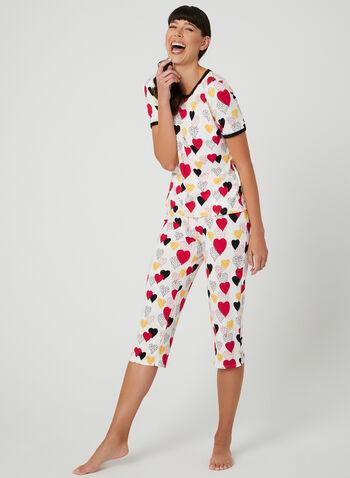 d1aae5d8e1fd Hamilton - Heart Print Pyjama Set