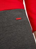 Jogging douceur pull-on en jersey chiné, Gris, hi-res