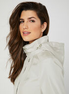A-Line Raincoat, Off White, hi-res