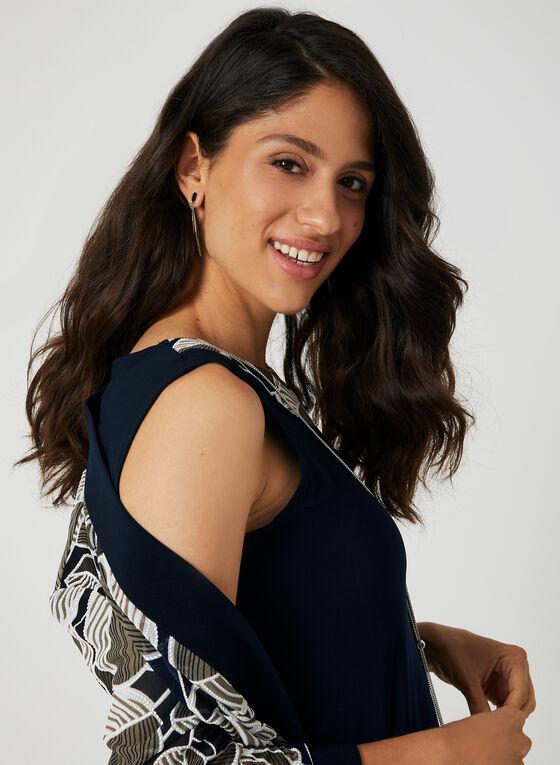 Jersey Dress With Jacket, Blue, hi-res