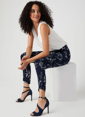 Modern Fit Slim Leg Pants, White, hi-res