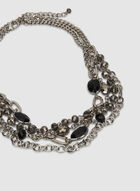 Beaded Necklace, Black