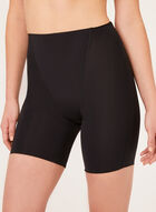 Secret Slimmers – Medium Control Mid Thigh Shaper, Black, hi-res