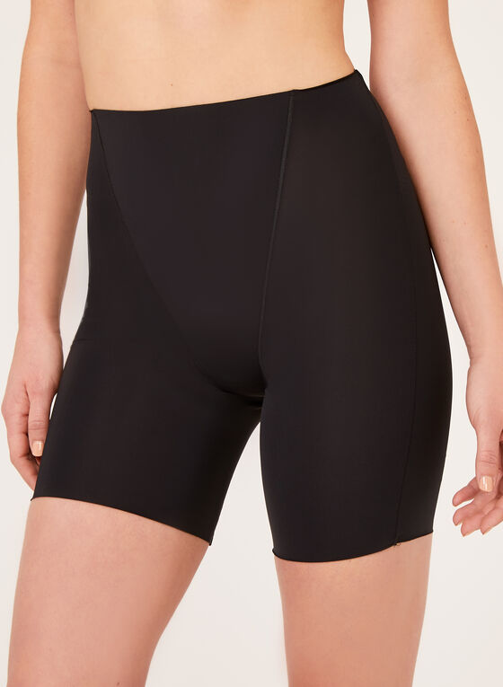 Secret Slimmers – Medium Control Mid Thigh Shaper, Black