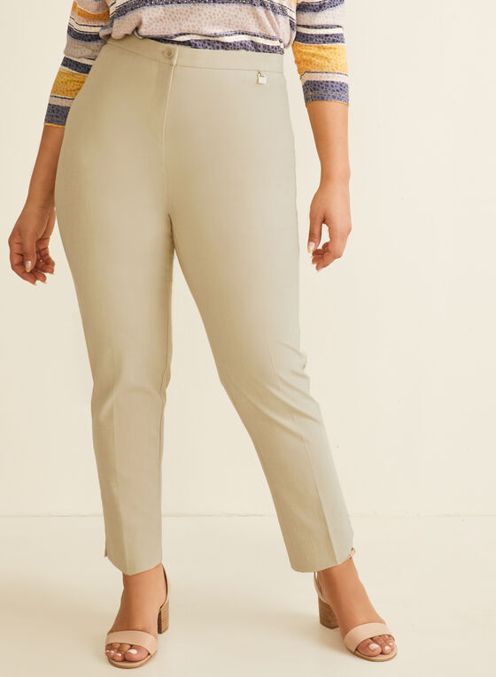 Signature Fit Straight Leg Pants, Off White