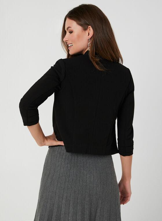 Veste courte à manches ¾, Noir, hi-res