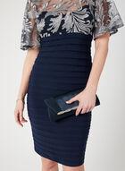 Embroidered Jersey Shutter Dress, Blue, hi-res
