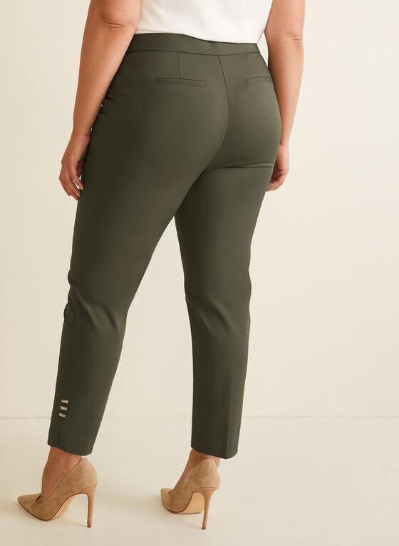 City Fit Straight Leg Pants, Green