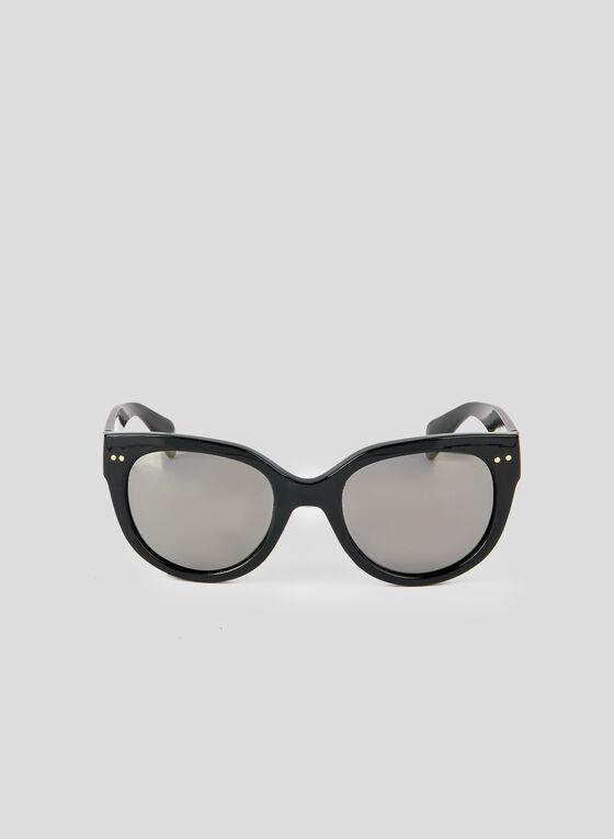 Tortoise Shell Sunglasses, Black