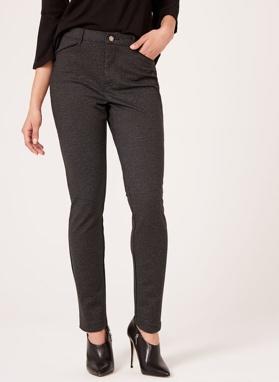 Simon Chang - Signature Fit Slim Leg Pants, Grey, hi-res