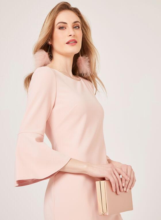 Jessica Howard - Crepe Pencil Dress, Pink