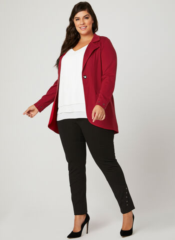 Picadilly - Duster Jacket, Red, hi-res