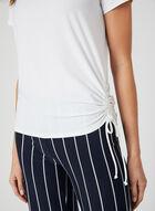 Jersey Drawstring T-Shirt, Off White, hi-res