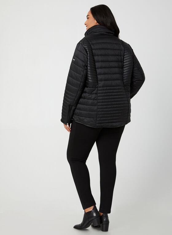 Novelti - Manteau matelassé à capuchon amovible, Noir