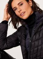 B by Bernardo - PrimaLoft® Down Filled Packable Coat, Black, hi-res