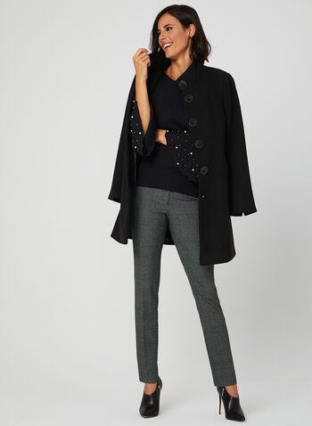 Marina V - Bell Sleeve Sweater, Black, hi-res