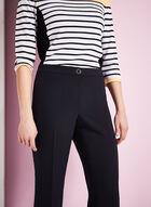 Pantalon coupe Moderne à jambe droite , Bleu