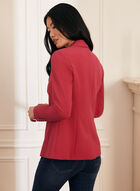 One-Button Closure Jacket, Pink