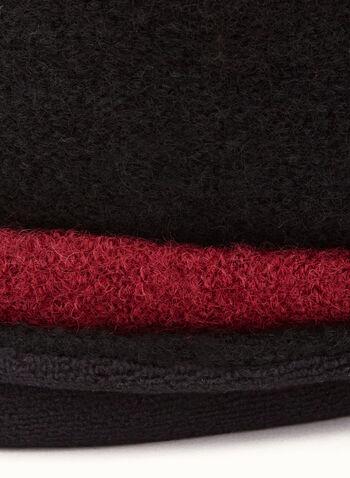 Two-Tone Wool Bouclé Hat, , hi-res