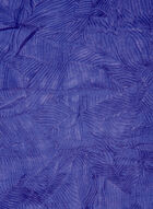 Pleated Lightweight Scarf, Blue, hi-res