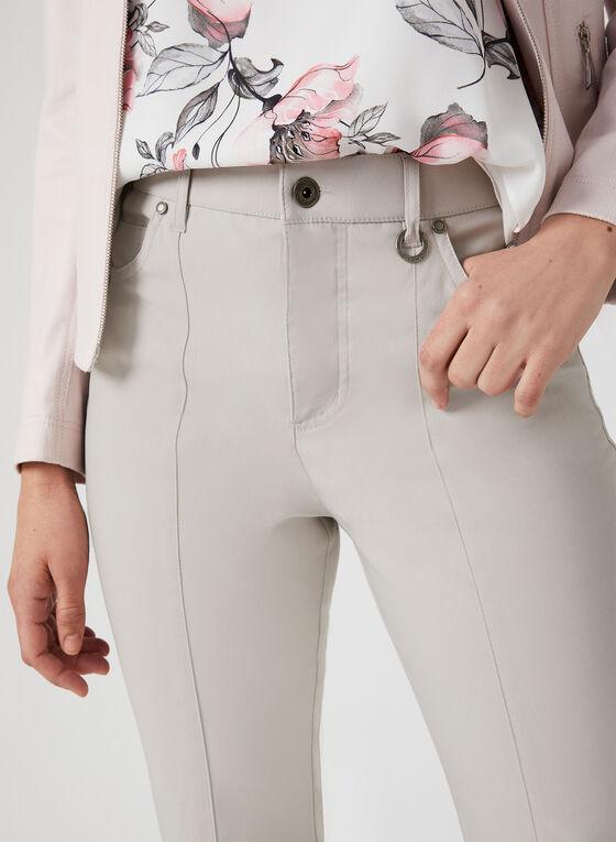 Simon Chang - Pantalon coupe signature, Gris